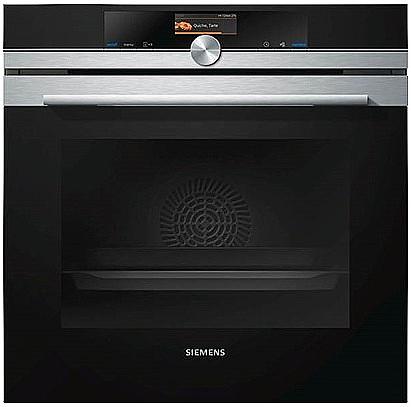 אדיר תנור בילד אין SIEMENS פירוליטי בעיצוב נירוסטה דגם HB676GBS1 מתצוגה CH-51