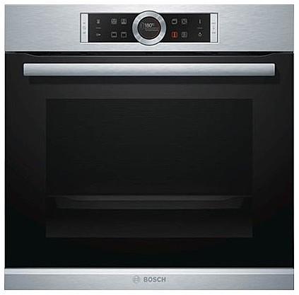 מגניב ביותר תנור בילד אין BOSCH פירוליטי בגימור נירוסטה דגם HBG676ES1 מתצוגה CV-04