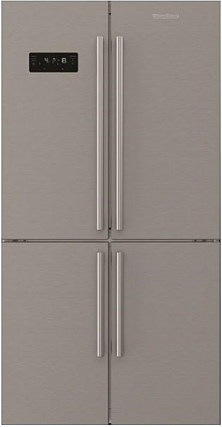 אדיר מקרר 4 דלתות מקפיא תחתון Blomberg KQD1617X נפח 535 ליטר | מקרר 3 GC-72